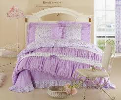 bedroom impressive purple princess crowns bedding little girls