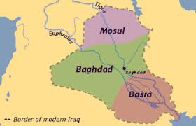map of basra transforming cities to shantytowns basra iraq in