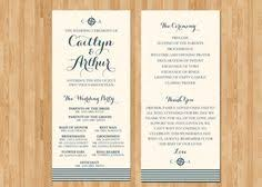 wedding program card stock custom wedding program printable pdf high resolution heart of