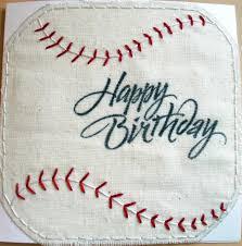 scrapper emily baseball birthday card