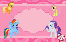 my little pony party free printable invitations is it for