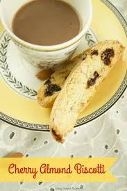 delicious cherry almond biscotti living sweet moments