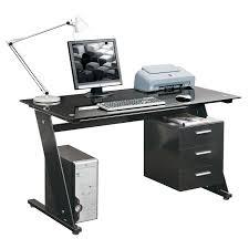 Modern Computer Desk by Corner Computer Desk With Drawers 18 Cool Sauder Harbor View