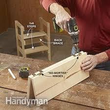ridiculously simple shop stool plans family handyman