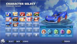 sonic sega all racing apk sonic all racing transformed mai update dlc usa eur