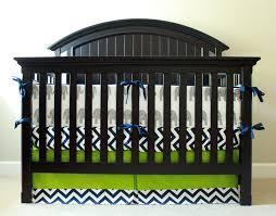 baby boy nursery bedding set navy blue and lime green crib