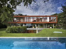Glass Box House Modern Masterpiece Of Glass And Steel In Texas Floating Box House