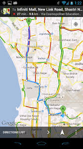 India Google Maps by Google Introduces Google Map Navigation And Live Traffic Updates