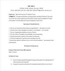 math tutor resume math tutor resume sle template free sles exles format