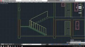 layout plani nedir autocad 2017 iki kollu merdiven kesit çizimi youtube