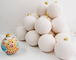 country crafts paint your own bauble decoration ornament
