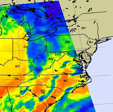 Map Of Md Nasa Nasa Provides Satellite Views Of Maryland U0027s Severe Weather