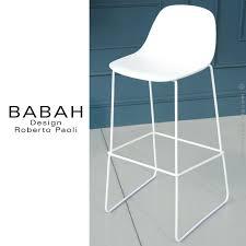 tabouret de cuisine 4 pieds tabouret de cuisine design babah 65 pieds acier peint luge assise