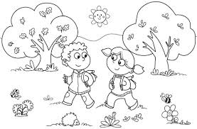 rainbow coloring pages for preschool coloring page for kids