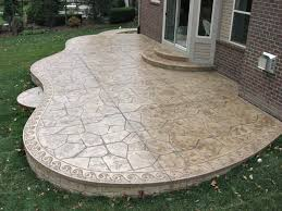 Backyard Concrete Patio Designs Do These Concrete Patio Designs Make You Say Wow