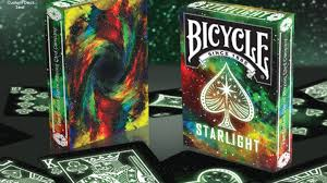 bicycle starlight cards by collectable cards