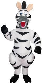 zebra halloween costume madagascar zebra marty mascot costume college mascot costumes