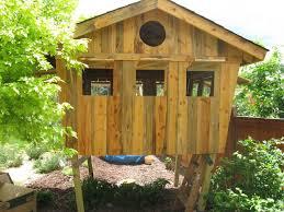 Kids Backyard Forts Kids U0027 Tree House Or Fort Eclectic Kids