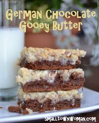 german chocolate gooey butter recipe german chocolate butter