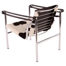 le corbusier sling armchair lc1 replica in cowhide commercial