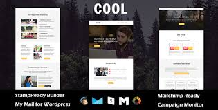 cool multipurpose responsive email template with stampready