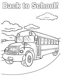 bus printable coloring page the magic bus coloring