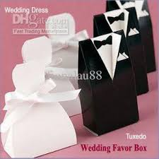 personalized wedding favor boxes personalized wedding dress tuxedo favor gift boxes wedding favor