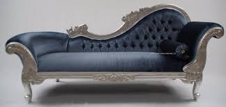 Chaise Lounge Sofa Impressive Chaise Longue Silver Leaf Blue Grey Velvet Lounge Sofa Ornate Throughout Grey Chaise Lounge Modern Jpg