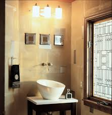 bathroom track lighting design ideas with frosted glass window