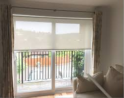 How To Measure Windows For Curtains by Sunscreen Roller Blinds We Installed To Window And Sliding Door