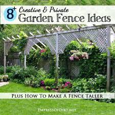 Diy Garden Fence Ideas 8 Creative Garden Fence Ideas Diy Home Sweet Home