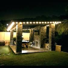 how to hang outdoor string lights on patio backyard string lights ideas backyard string lights backyard string