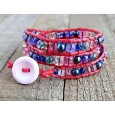 red wrap bracelet images Wrap bracelets JPG