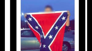 Confederate Flag And Union Flag Pd Middletown High Student Brought Confederate Flag To