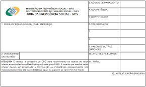 www previdencia gov br extrato de pagamento informações sobre preenchimento de gps previdência social