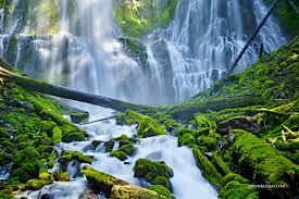 Oregon Waterfalls Map by Emerald Cascade Proxy Falls Oregon U2022 David Balyeat Photography