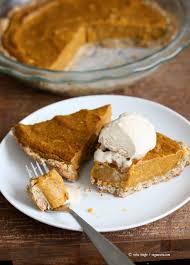 vegan pumpkin pie with rustic crust vegan richa