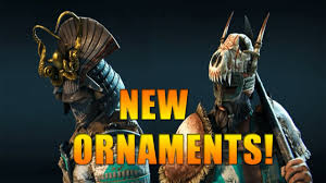 new ornaments for all heroes for honor