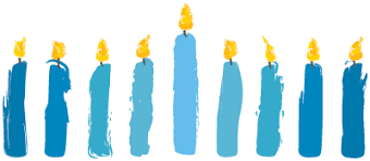 chanukah candles chanukah celebration the j scottsdale arizona