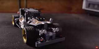 mitsubishi lego lego goes drifting in toy story like video featuring u0027getaway