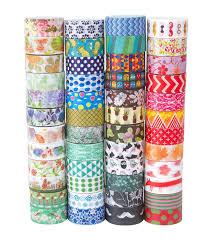 Halloween Washi Tape by Amazon Com Washi Tape Set Of 48 Rolls Decorative Washi Masking