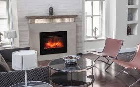 Fireplace Insert Electric Amantii Zecl 26 2923 Flushmt Bg Zero Clearance Electric Fireplace