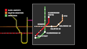 Ttc Subway Map One Subway 17 Lrt Stops Coming To Scarborough