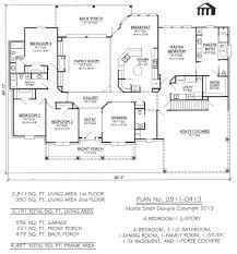 100 1 5 story house floor plans house plans hillside house