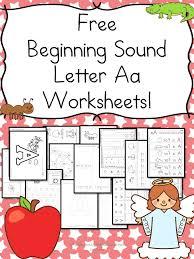 free beginning sounds letter u0027a u0027 worksheets homeschool