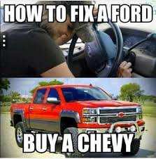 Silverado Meme - how to fix a ford car meme