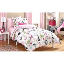 mainstays kids paris bed in a bag bedding set walmart com