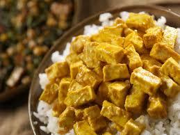 cuisiner tofu poele recette végétarienne riz au tofu et légumes