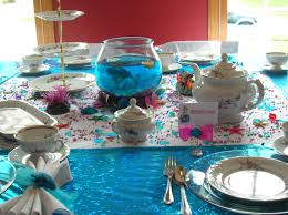 Home Interior Parties by Little Mermaid Birthday Party Decoration Ideas Room Design Decor