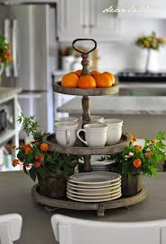 Decor Ideas For Kitchen Best 20 Kitchen Island Centerpiece Ideas On Pinterest Coffee